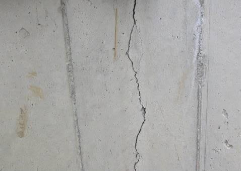 Basement Wall Crack